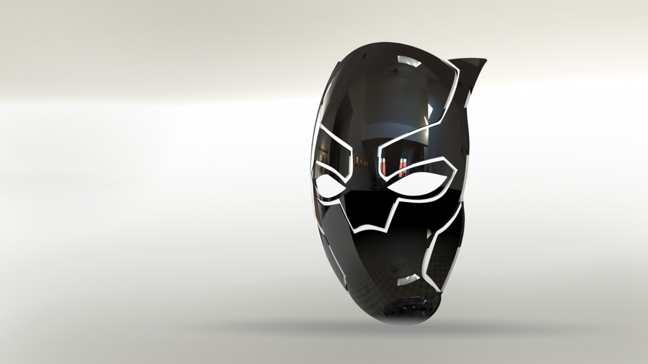 Untitled.JPG Download free STL file black panther • 3D print object, gadhiyavinay88
