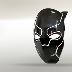 Download free STL file black panther • 3D print object, gadhiyavinay88