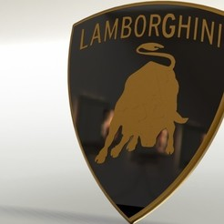 Download free 3D print files Lamborghini symbol, gadhiyavinay88