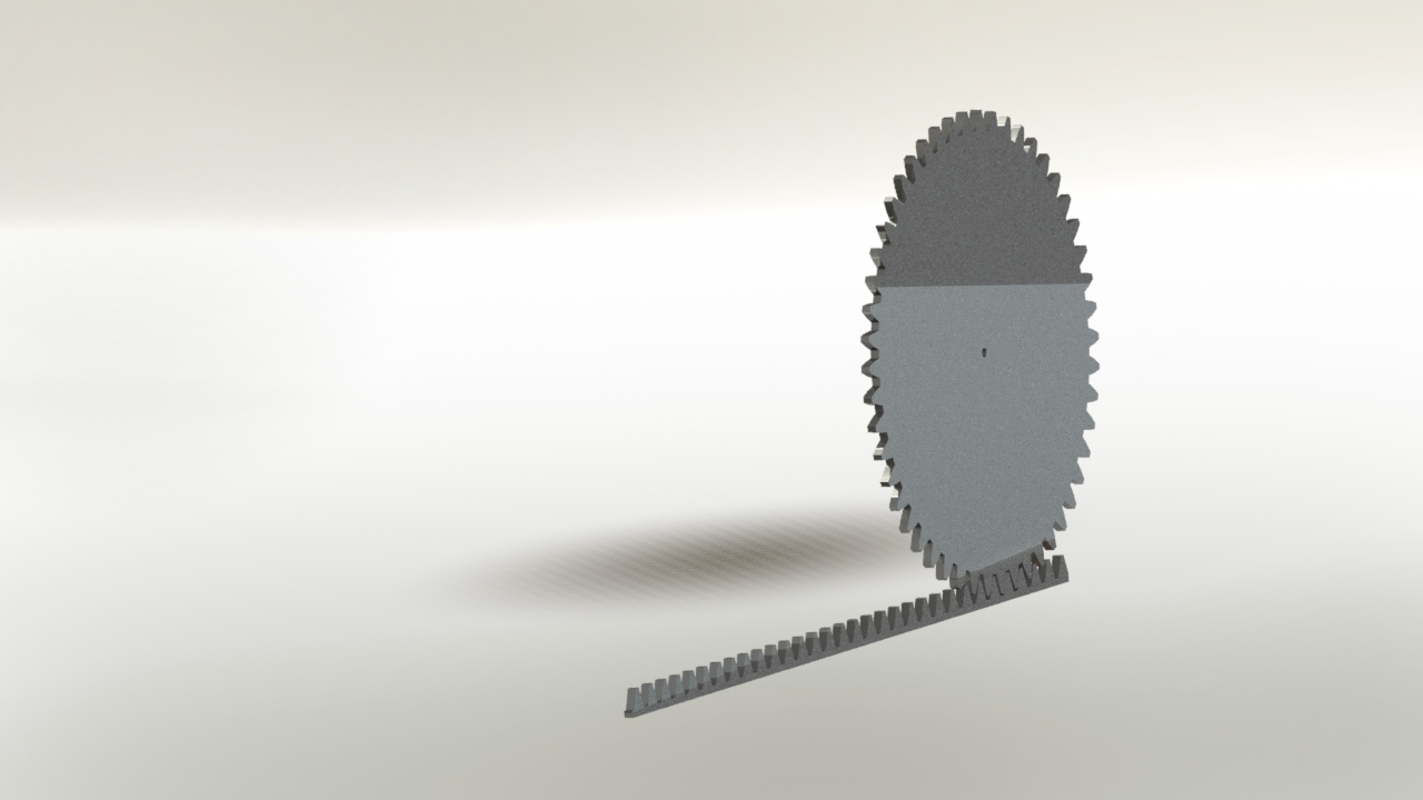 preview.JPG Download free STL file rack and pinion  mechanism • Template to 3D print, gadhiyavinay88