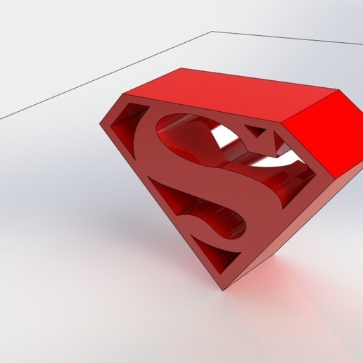 Download free STL file superman • 3D print object, gadhiyavinay88