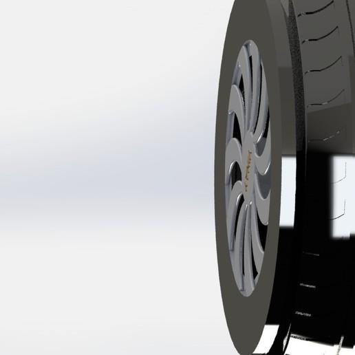 preview 3.JPG Télécharger fichier STL gratuit PNEU DE VOITURE • Objet à imprimer en 3D, gadhiyavinay88