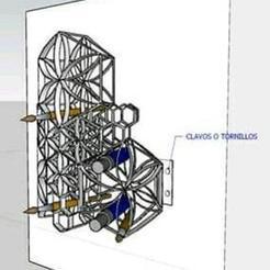 Descargar diseños 3D gratis Organizador Para utensilios de trabajo, rdao_07