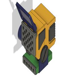Télécharger fichier OBJ gratuit Partie LRM de Catapult Mech • Design pour impression 3D, Alfarabius