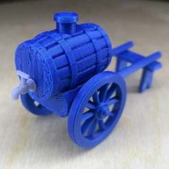 w4kk8loXOx0.jpg Download free STL file Water Barrel 28 mm (inspired by Pathologic 2) • Design to 3D print, Alfarabius