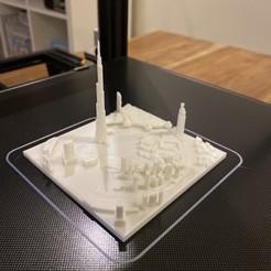 Download free 3D printer files Dubai, Burj Khalifa, yaz