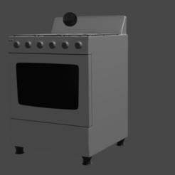 estufa 1.png Download OBJ file Stove • Design to 3D print, pipiripau0791