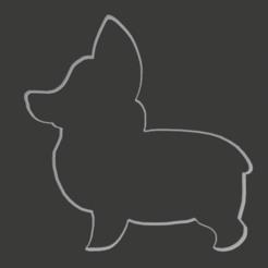 corg.png Télécharger fichier OBJ Coupeur de corgi • Modèle pour impression 3D, pipiripau0791