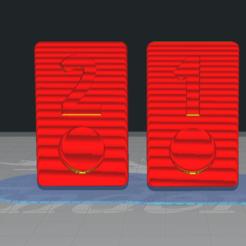 Download STL file burako and rumy chips 1 and 2 • 3D print design, ElBarbaRio