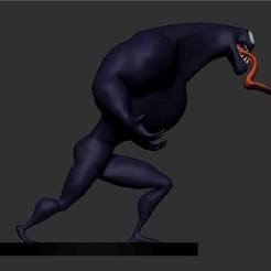v6.jpg Download STL file Venom • 3D printing object, Designlol