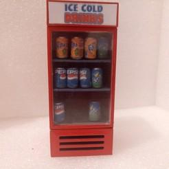 IMG_20200607_194522_2.jpg Download STL file  Diorama Accessories Fridge With Soda Can • 3D printable model, attilatotalwar89
