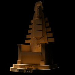 throneH_01.JPG Télécharger fichier STL TRÔNE DE HORDAK (FILMATION) • Design imprimable en 3D, ameroni