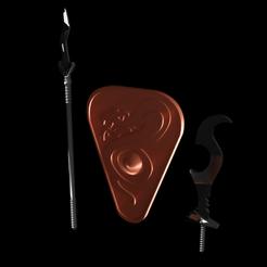 snakemenPack.png Télécharger fichier STL Pack d'armes des serpents • Modèle imprimable en 3D, ameroni