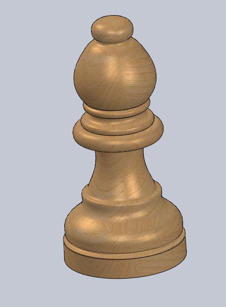 alfil.PNG Télécharger fichier STL gratuit échecs complets • Plan pour imprimante 3D, montenegromateo111