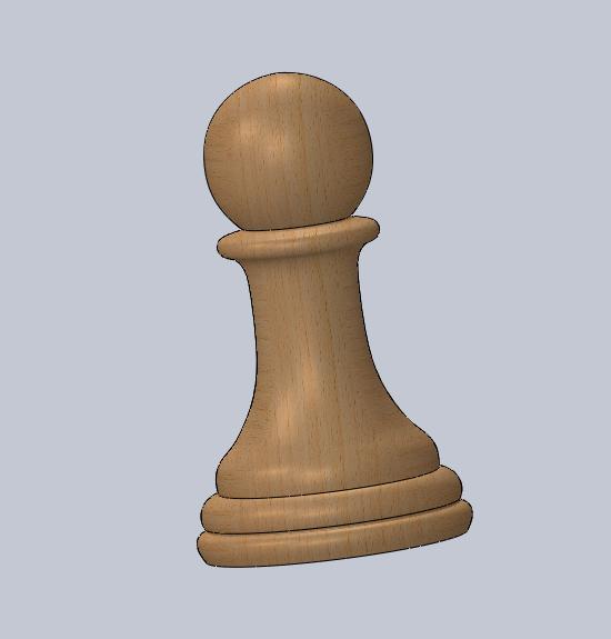 peón.PNG Télécharger fichier STL gratuit échecs complets • Plan pour imprimante 3D, montenegromateo111