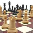 foto ajedrez.PNG Télécharger fichier STL gratuit échecs complets • Plan pour imprimante 3D, montenegromateo111