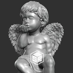 Download 3D printer designs Little Angel, _SR_Models