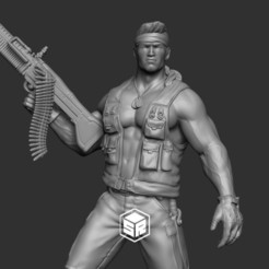 Close_01.jpg Download STL file Soldier • 3D printing model, _SR_Models