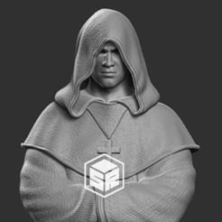 monk_preview.jpg Download STL file Monk • 3D print design, _SR_Models