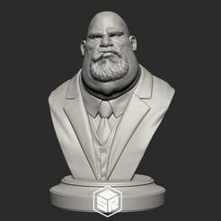 FatMafiaBoss_noHat_Preview.jpg Télécharger fichier STL Patron de la mafia Variation B • Design à imprimer en 3D, _SR_Models