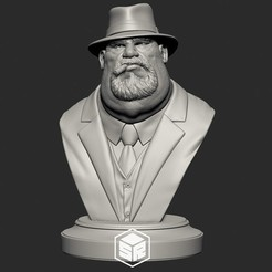 FatMafiaBoss_Overview_Preview.jpg Télécharger fichier STL Chef de la mafia • Plan imprimable en 3D, _SR_Models