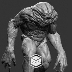 creature_preview.jpg Télécharger fichier STL Créature • Modèle imprimable en 3D, _SR_Models