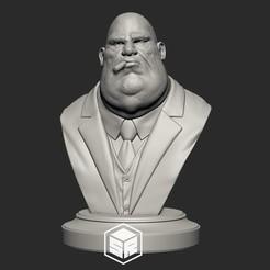 FatMafiaBoss_NoHatBeard_Preview.jpg Télécharger fichier STL Patron de la mafia Variation C • Plan pour impression 3D, _SR_Models
