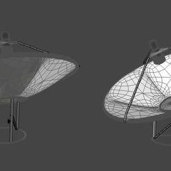 satellite dish wire frame.JPG Download STL file satellite dish • 3D printable model, oliyadwondu03