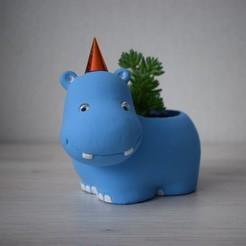 DSC_0294sdfsdf333.jpg Télécharger fichier STL Pot de fleurs Hippo, jardinières • Objet à imprimer en 3D, siipost1