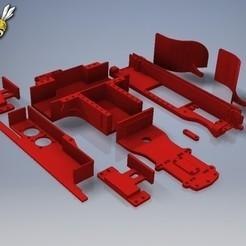 Download 3D printing templates TAMIYA XV-01 RC RALLY CAR kit , rctruckrallymodels