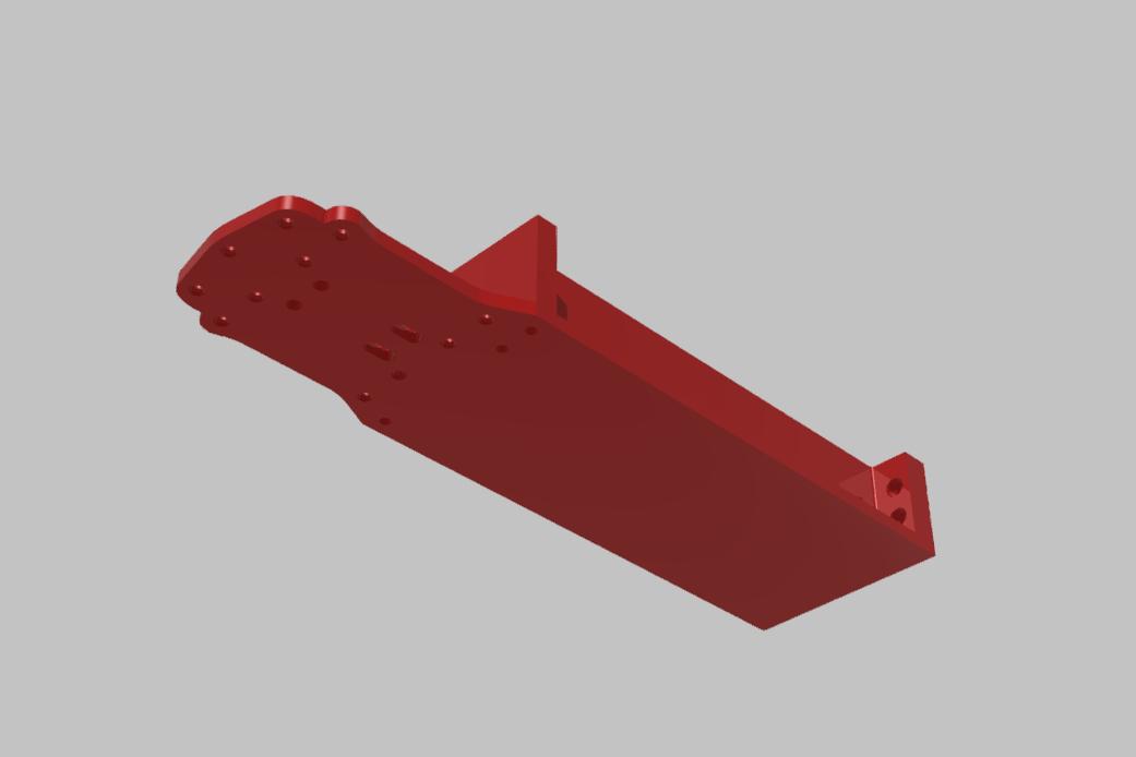 PREDNI DIL SPODNI PLATO TAMIYA XV-01 RC RALLY.jpg Download STL file TAMIYA XV-01 RC RALLY CAR KIT model 2021 • 3D printing model, rctruckrallymodels