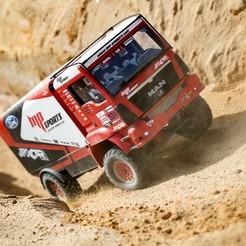 IMG-2020-09-19-141738-295056.jpg Download STL file RC Truck MAN 1:12 Dakar  • Object to 3D print, rctruckrallymodels