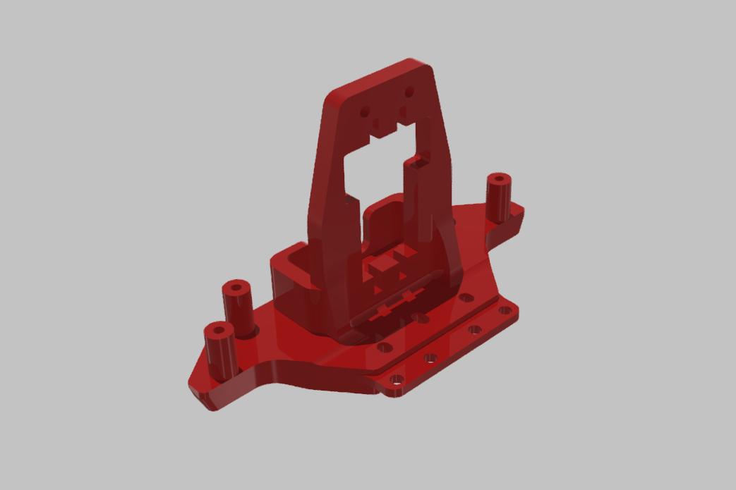 SERVO DRZAK  TAMIYA XV-01 RC RALLY 02.jpg Download STL file TAMIYA XV-01 RC RALLY CAR KIT model 2021 • 3D printing model, rctruckrallymodels