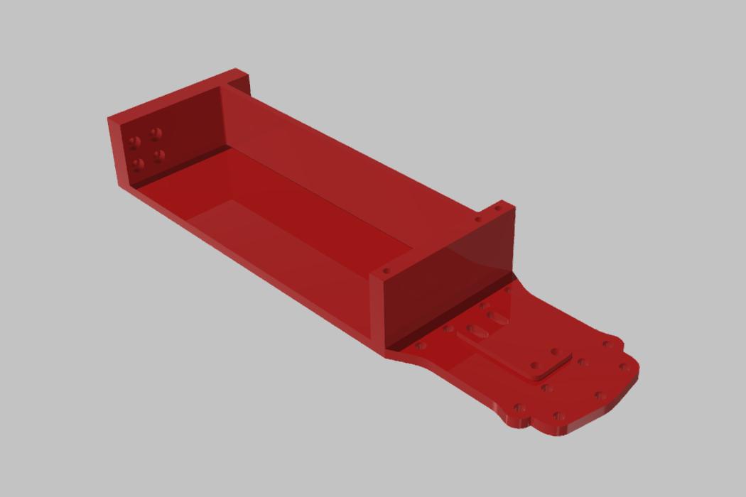 PREDNI DIL SPODNI PLATO TAMIYA XV-01 RC RALLY 02.jpg Download STL file TAMIYA XV-01 RC RALLY CAR KIT model 2021 • 3D printing model, rctruckrallymodels