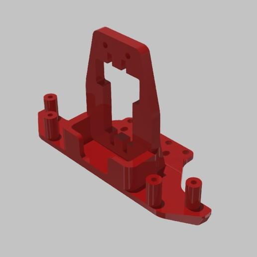 SERVO DRZAK  TAMIYA XV-01 RC RALLY.jpg Download STL file TAMIYA XV-01 RC RALLY CAR KIT model 2021 • 3D printing model, rctruckrallymodels