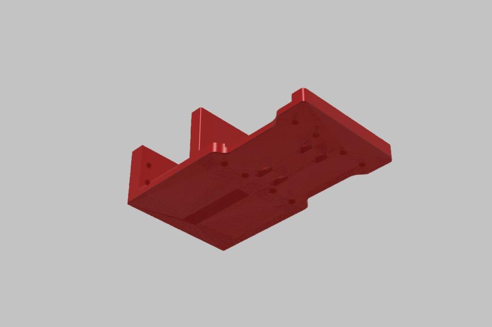 ZADNI DIL SPODNI PLATO TAMIYA XV-01.jpg Download STL file TAMIYA XV-01 RC RALLY CAR KIT model 2021 • 3D printing model, rctruckrallymodels