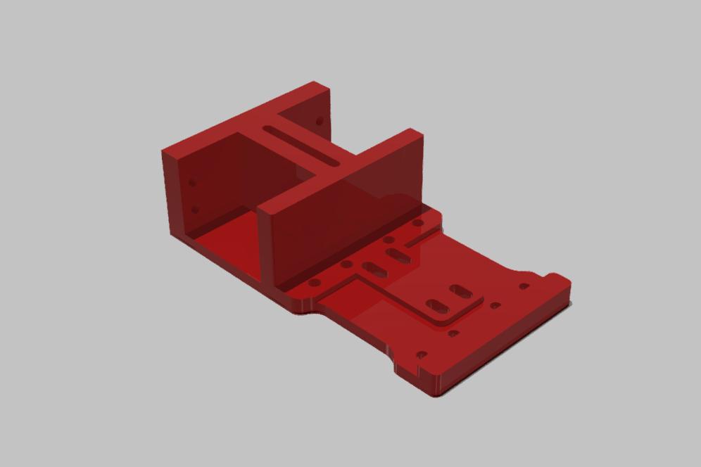 ZADNI DIL SPODNI PLATO TAMIYA XV-01 02.jpg Download STL file TAMIYA XV-01 RC RALLY CAR KIT model 2021 • 3D printing model, rctruckrallymodels