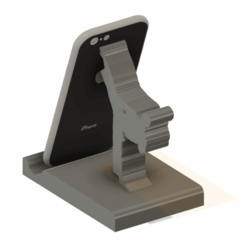 Download free STL file karaté phone stand • 3D print object, CrazyScientist