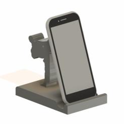 karate3.png Download free STL file Karate phone holder • 3D print model, CrazyScientist