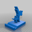 Download free STL file Karate Phone holder V2 • 3D printer object, CrazyScientist