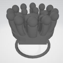 Visionneuse 3D 05_06_2020 16_50_36.png Télécharger fichier STL gratuit bague en fleur • Design pour imprimante 3D, nathanspinotti