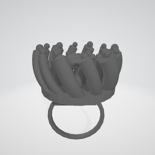 Visionneuse 3D 05_06_2020 16_47_33.png Download free STL file twisted version flower ring • Design to 3D print, nathanspinotti