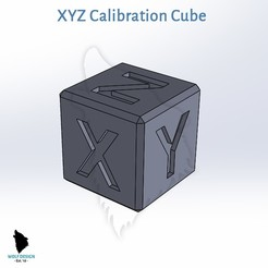 Download free 3D printing designs WD XYZ Calibration Cube, _wolfdesign_