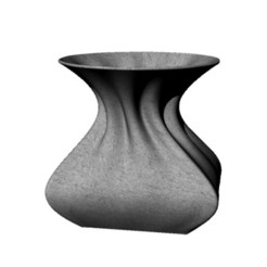 Download STL file Vase with curves • 3D printer template, ZachariahSP