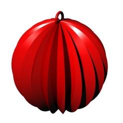 christmas.jpg Télécharger fichier STL gratuit Décoration de la boule moletée de Noël • Objet imprimable en 3D, ZachariahSP