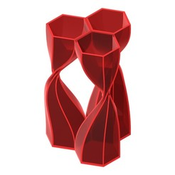 twisted 1.jpg Download STL file Modular twisted vase • 3D printer template, ZachariahSP