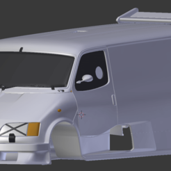 supervan.png Download STL file ford supervan 3 for 1:10 rc car stl for 3d printing • 3D printable design, 3dmodelcars