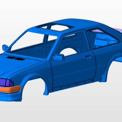 front.png Download STL file ford escort rs turbo series 1 body shell for 1:10 rc car stl for 3d printing • 3D print model, 3dmodelcars