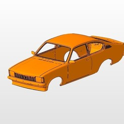 front.jpg Download STL file opel kadett1979 BODY SHELL FOR 1:10 RC CAR STL FOR 3D PRINTING • 3D printing design, 3dmodelcars