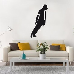 MJackson pared.jpg Télécharger fichier STL Michael Jackson Wall • Objet pour impression 3D, LCdesign
